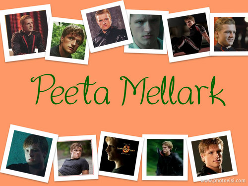 Peeta Mellark collage