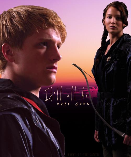 Katniss & Peeta - Peeta Mellark and Katniss Everdeen