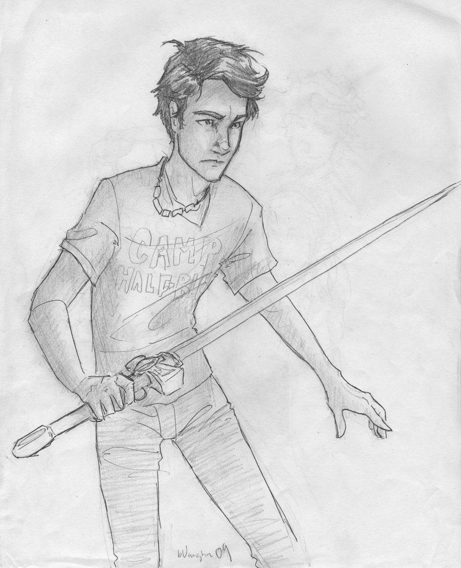 Percy Jackson Hermes Drawing Percy Jackson - Books ...