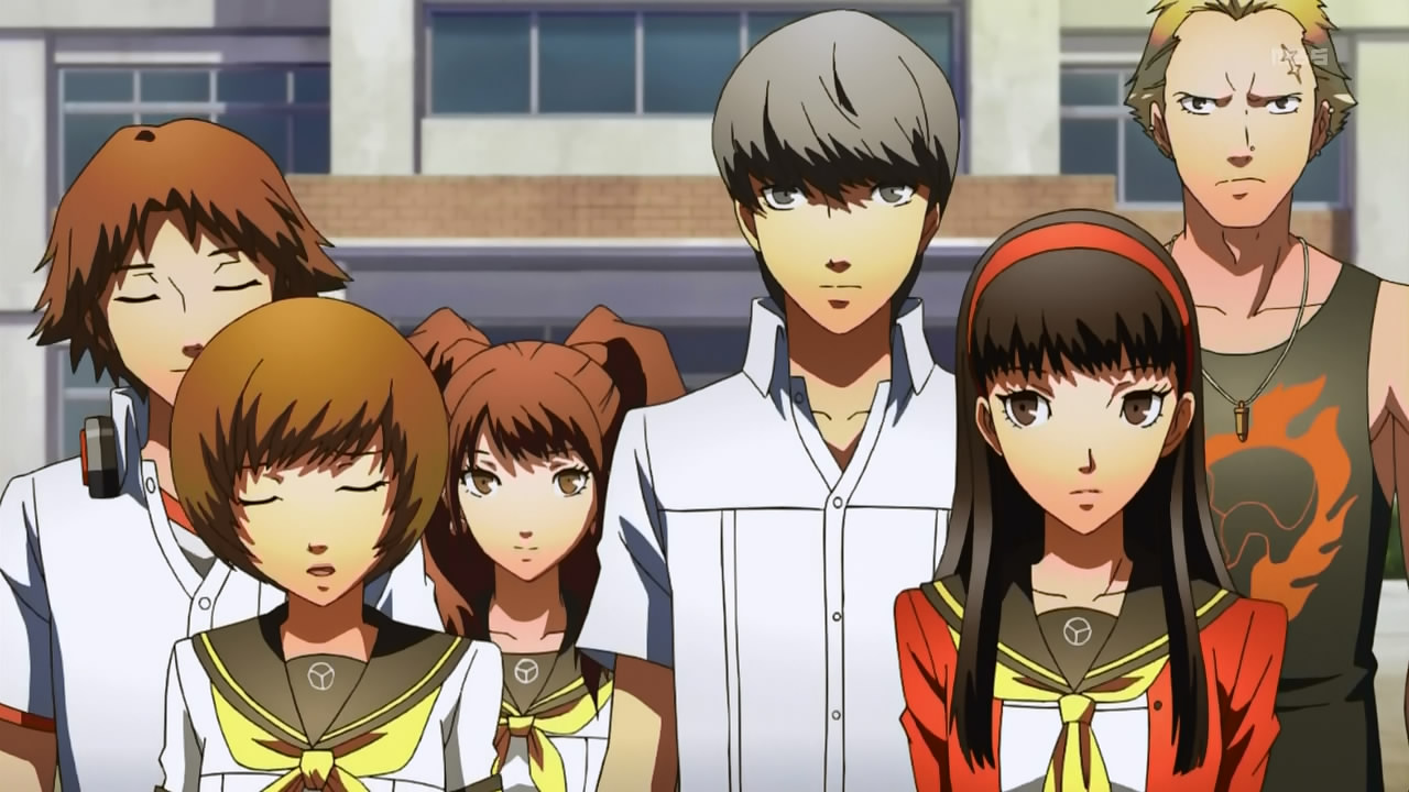 Persona 4 Anime Characters : Persona the anime animation photo