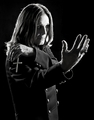 Photoshoot for &quot;Black Rain&quot; by Joseph Cultice 2007 - ozzy-osbourne photo