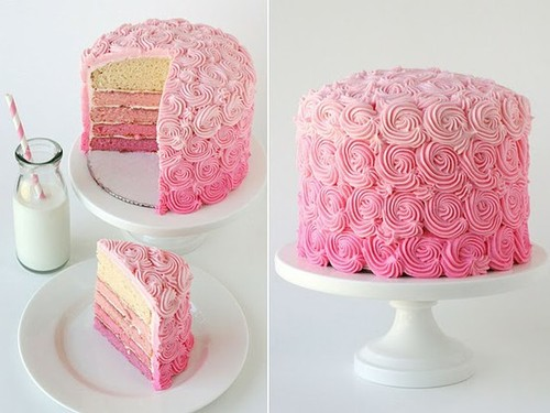rose Birthday Cake for Berni