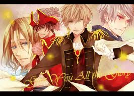 Pirate France England and Prussia???/