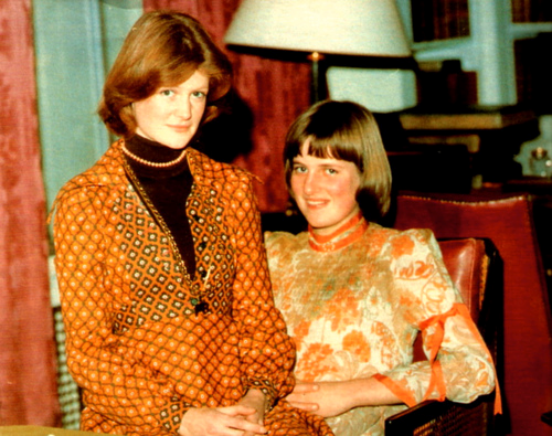Princess Diana and her Older Sister