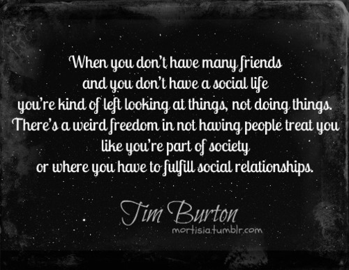 Tim Burton wallpaper titled Quote