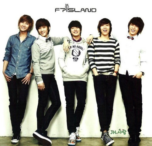 FT ISLAND (에프티 아일랜드) wallpaper containing a well dressed person, a pantleg, and long trousers called Rabbit Island Post Cards