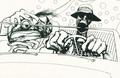 Ralph Steadman illustration - fear-and-loathing-in-las-vegas photo