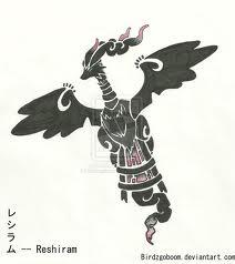 Reshiram Totem Pole *-*