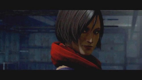 Resident Evil 6- unknown woman