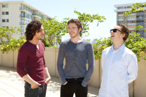 Richard, Kit and Alfie