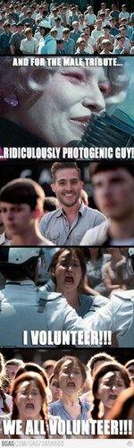 Ridiculously PhotoGenic Guy at Reaping
