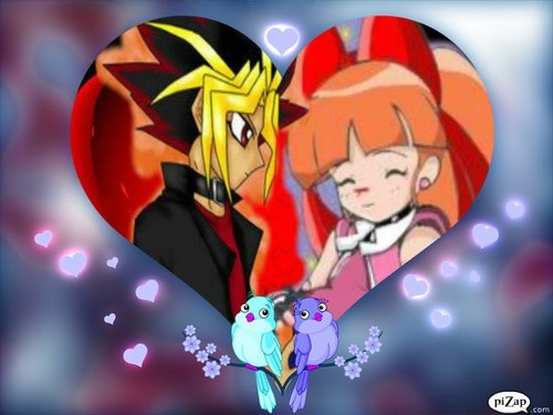 Romantic cinta foto of Yugi and Momoko