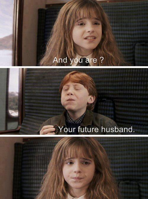 harry potter and ron weasley dating