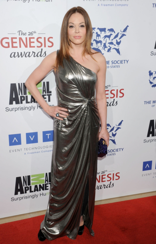 Rose - 26th Annual Genesis Awards, March 24, 2012