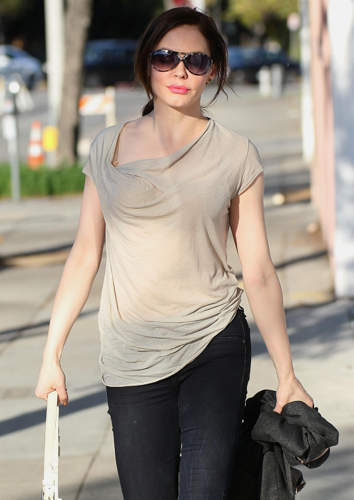 Rose - Runs Errands in West Los Angeles - March 09, 2012