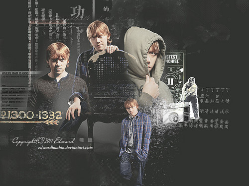 Rupert Grint wallpaper containing a sign entitled RupertGrint!
