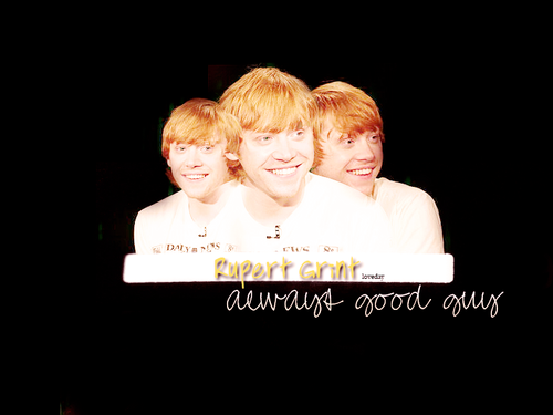Руперт Гринт Обои probably with a sign and a portrait called RupertGrint!
