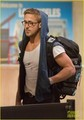 Ryan Gosling: Late Night LAX Arrival!