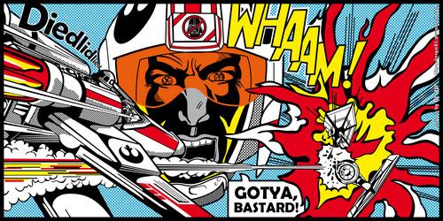 ngôi sao WARS Pop Art Wallpaper: Bergie81