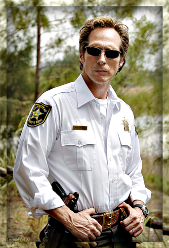 William Fichtner দেওয়ালপত্র titled SUPER SHERIFF
