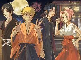 Sai Naruto Sasuke Sakura