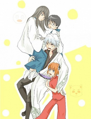 Sakata Family + Katsura xD