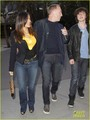 Salma Hayek: Lakers Game with the Family!