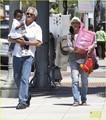 Sandra Bullock: Day Out with Louis! - sandra-bullock photo
