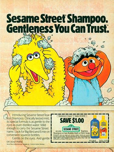 Sesame Street shampoo