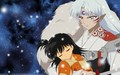 Sesshomaru and Rin Starry Skys
