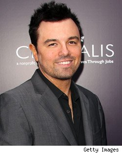 Seth MacFarlane wallpaper with a business suit and a suit titled Seth MacFarlane Collage