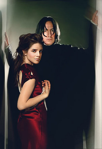 Severus Snape and Hermione