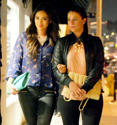 Shay Mitchell In Venice - 17.04.2012