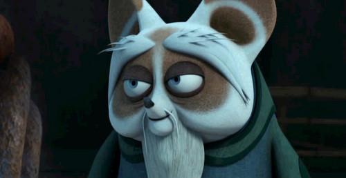 Shifu's father Shirong