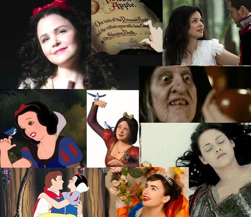 Snow White's collage