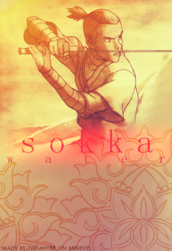 Sokka - water - avatar-the-last-airbender Photo