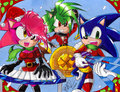 Sonic Underground christmas