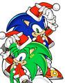 Sonic and Manic Christmas