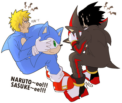 Sonic and Shadow..?