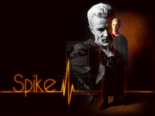 Angel wallpaper containing a concert called Spike