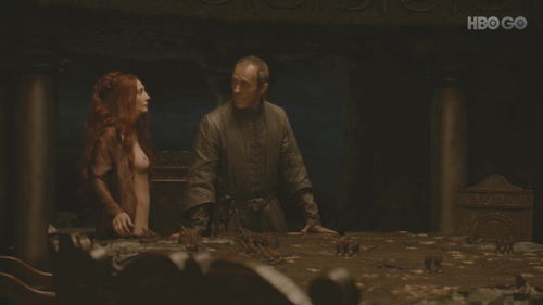 melisandre and stannis baratheon relationship test