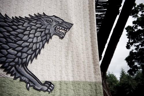 House Stark wallpaper entitled Stark banner