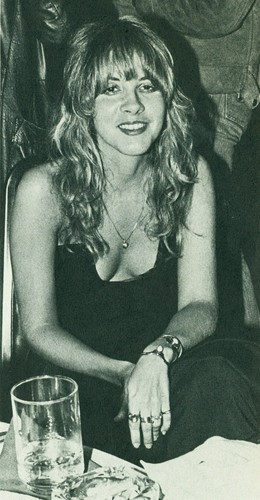 Stevie Nicks wallpaper possibly with a coffee break titled Stevie Off Stage