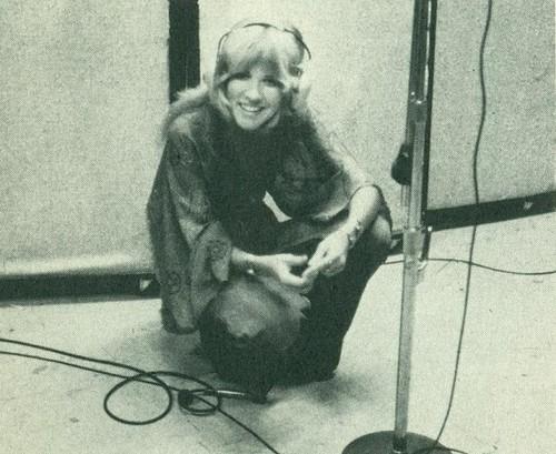 Stevie at work