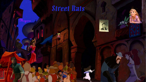 disney crossover wallpaper with a rua entitled rua Rats