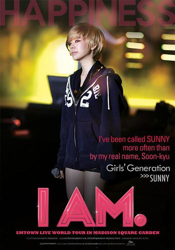 "Sunny ""I Am"" English poster"