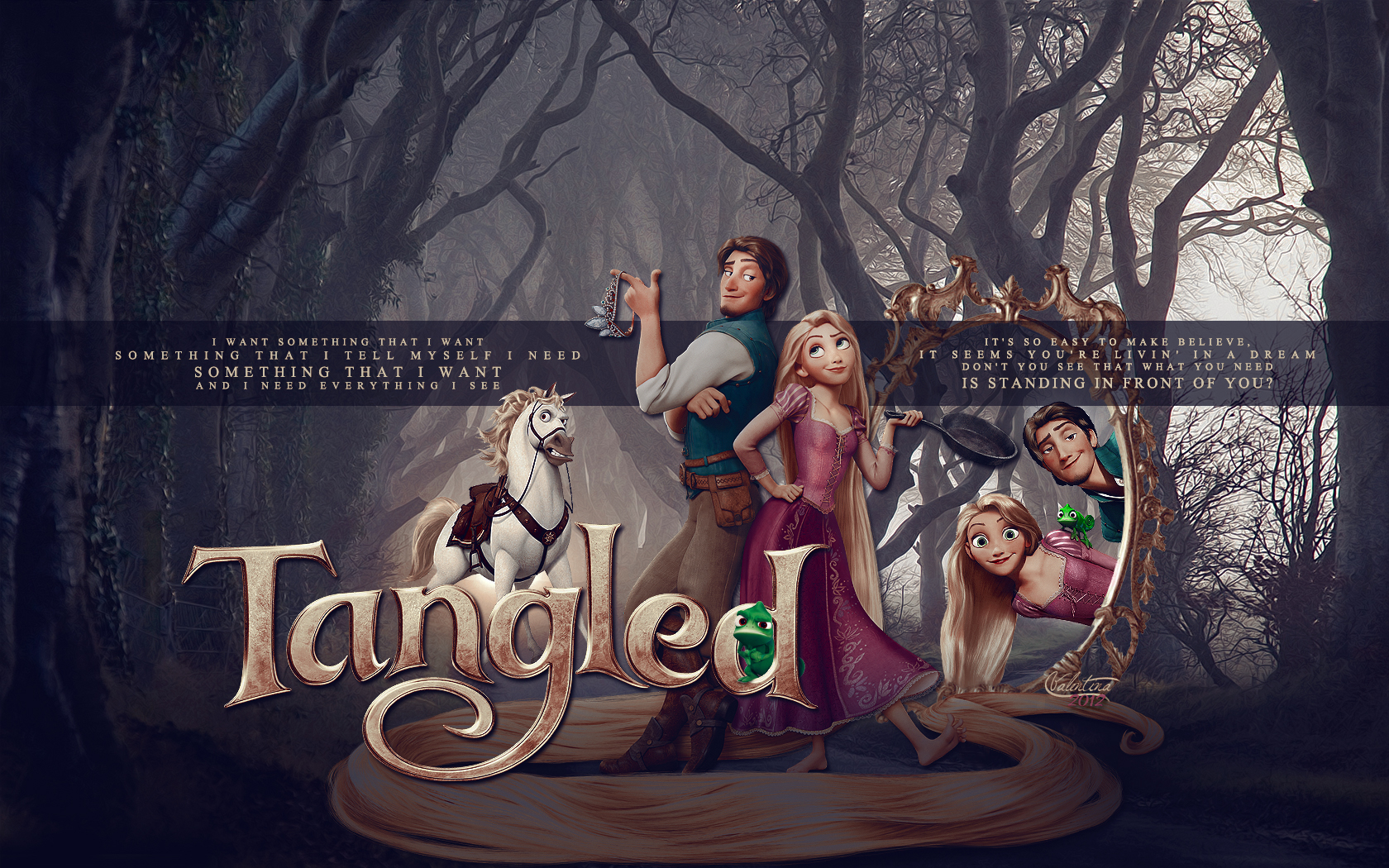 Related Pictures tangled disney wallpaper movie desktop tangled
