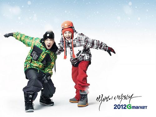 Taeyang & G-Dragon for Gmarket