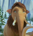 Teenage Peaches Rolling Her Eyes - ice-age photo