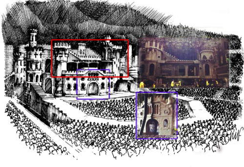 The Born This Way Ball Tour stage